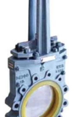 Шиберные задвижки с полиуретановым уплотнением  КОРАЛ серии KLNCPZ 73
