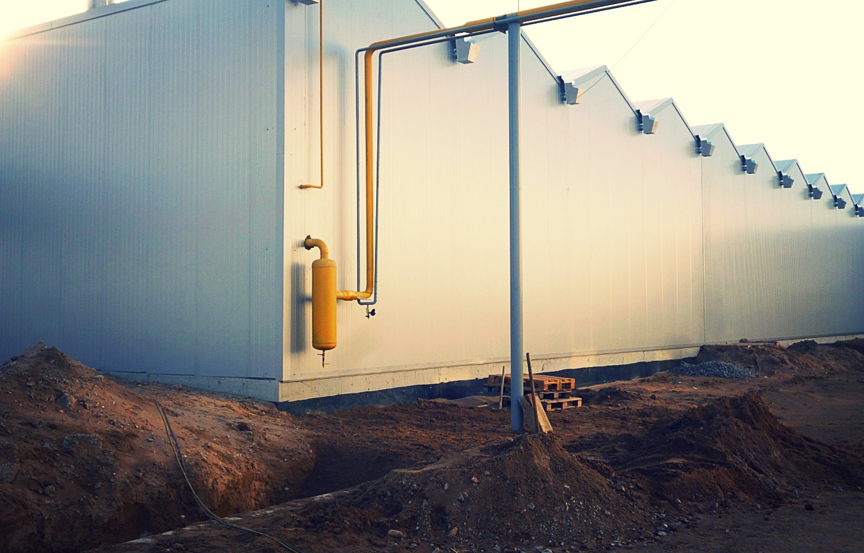 Строительно-монтажные работы с поставкой необходимого оборудования по объекту: Реконструкция насосно-компрессорного отделения тепличного комплекса ТОО Green Land Alatau
