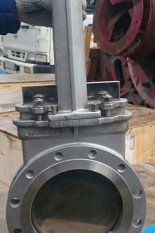 Шиберные задвижки с керамическим уплотнением КОРАЛ серии KLPZ 73С