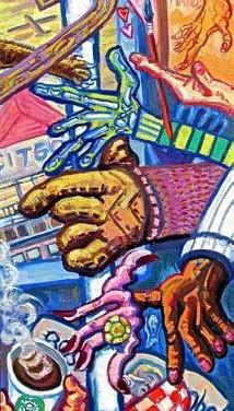 Subway Left Hands | 2017