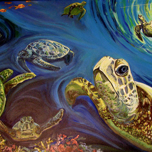 Sea Turtles | 2012 SOLD