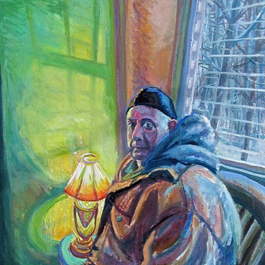 Winter Morning Steve | 2017 acrylic