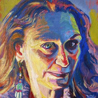 Self-Portrait | 2016 oil and acrylic