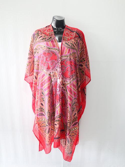Women Resort Wear Clothing Plus Size 2020 - T11760 Red