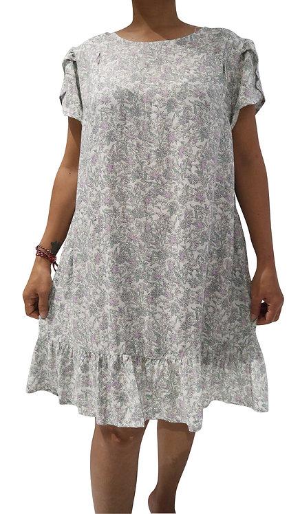 Women Resort Wear Clothing 2020 - T11797 Green Print