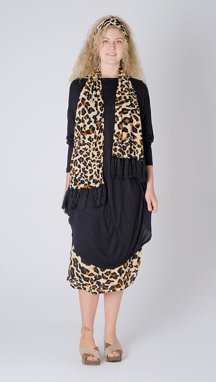 Scraft- Leopard Print - Rayon Jersey