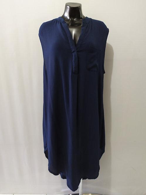 Women Resort Wear Clothing 2020 - D4878 Navy Plain