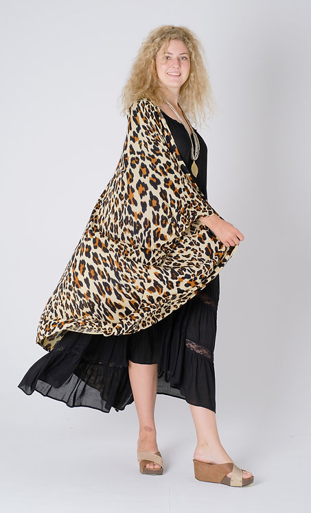 Women Resort Wear Clothing 2020 - D41171 Leopard Print