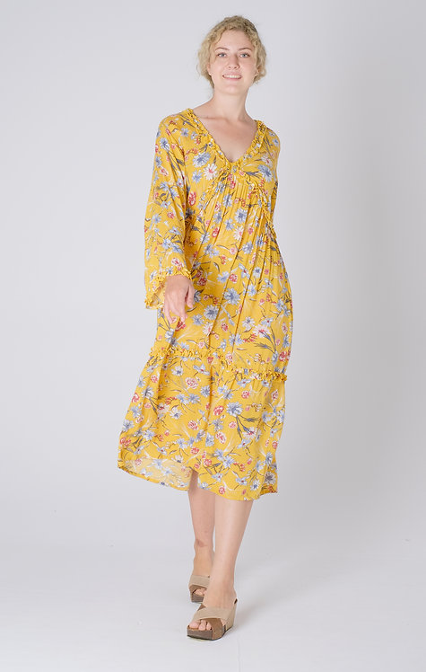 Women Resort Wear Clothing 2020 - D41107 Mika Yellow