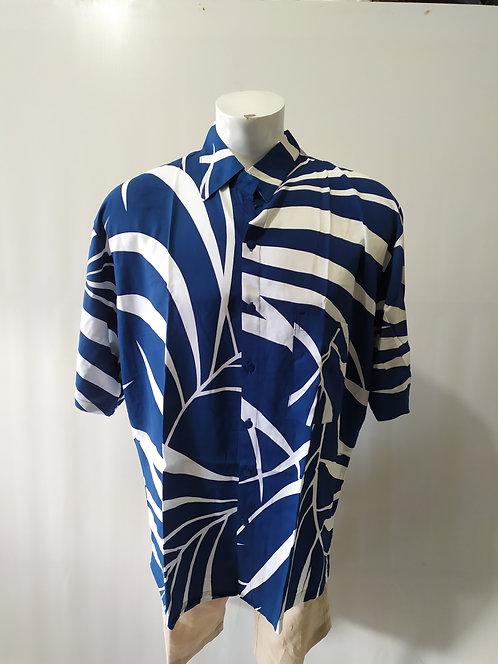 Bali Men Wear 2020 - JM SS1 Navy Rainforest Print