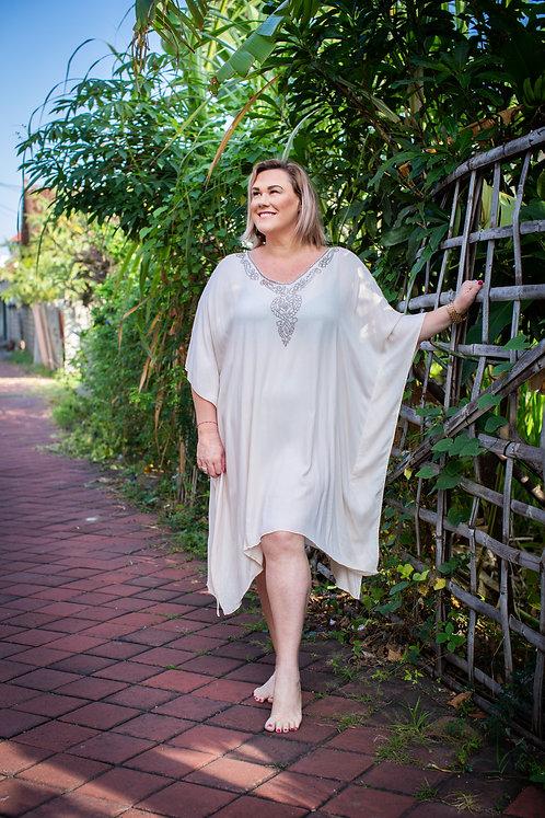 Women Resort Wear Clothing Plus Size 2020 - EK01 Creme