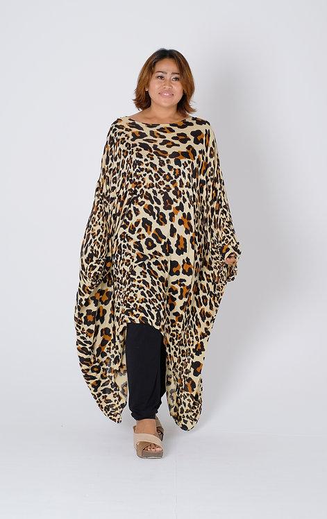 Women Resort Wear Clothing 2020 -  T11816 Leopard Print