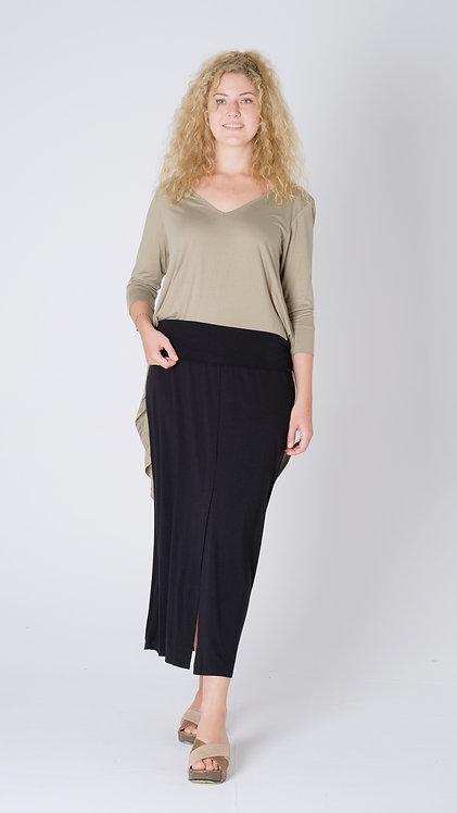 Women Resort Wear Lifestyle Skirt 2020 - S2206 Black