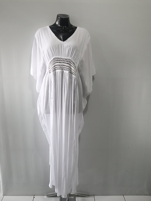 Women Resort Wear Clothing Plus Size 2020 - CROCHETMAXI White