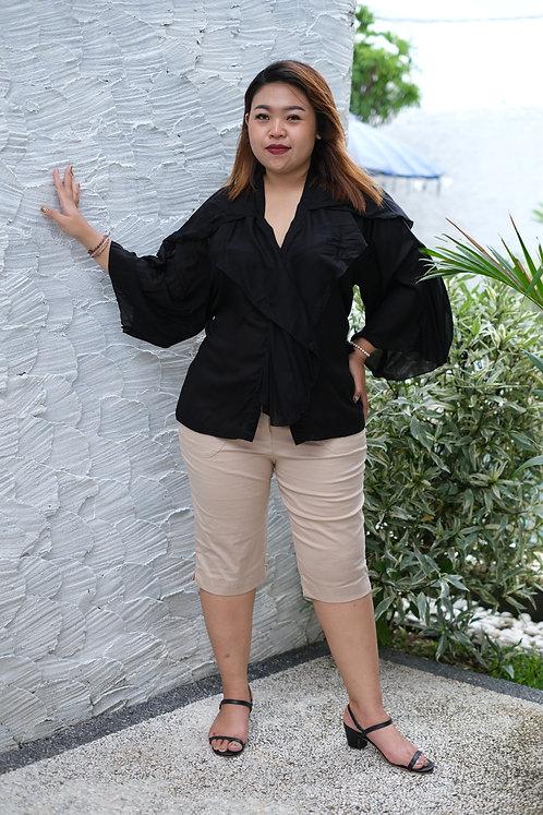 Women Resort Wear Clothing 2020 - T11790 Black Plain