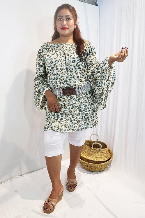 Women Resort Wear Clothing 2020 - PN025 Leopard Print