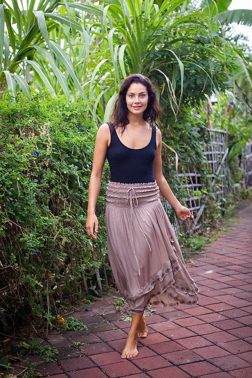 Women Resort Wear Clothing 2020 - TOPSKIRT Mocha