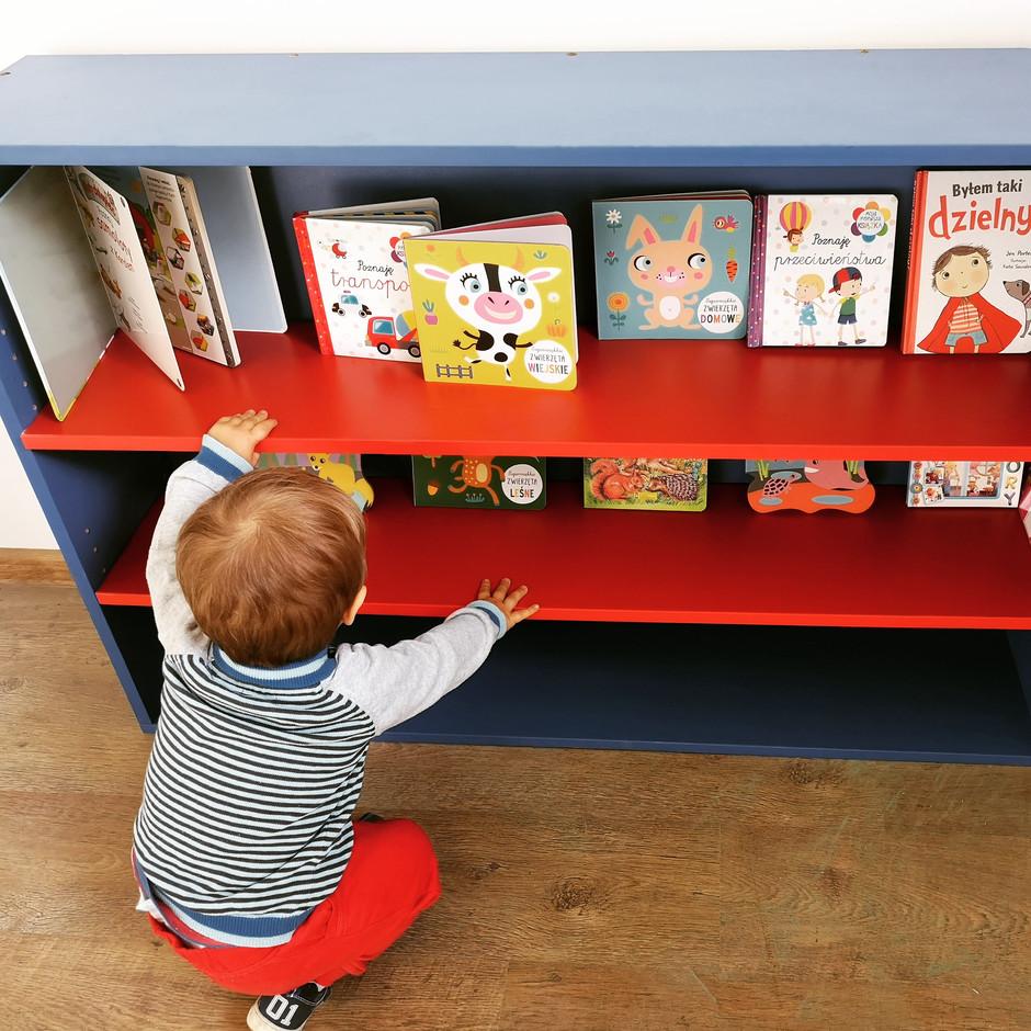 Stanowisko bibliotekarza jest już zajęte ;)
