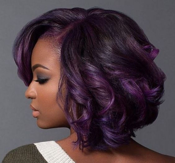 Relaxer hair styling
