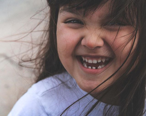 When a smile is all you have to give. It's always best to try to make that smile into laughter.