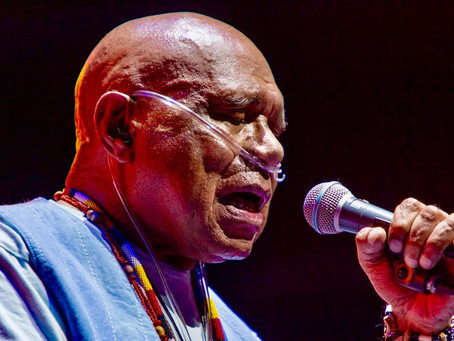Uncle Archie Roach Performed at The Sidney Myer Music Bowl
