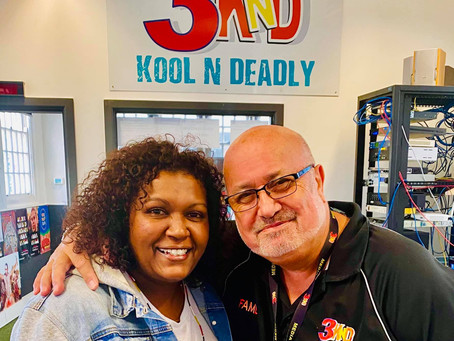 Emma Donovan Visits the KoolNDeadly Office