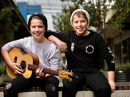 Melbourne Duo Bo'ness release their debut single We don't need this town