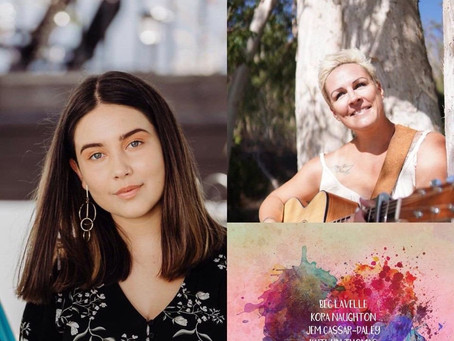 """Bec Lavelle and Jem Cassar-Daley spoke about their new song """"Nervous Girls"""" on KoolNDeadly"""
