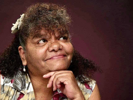 Aunty Rieo Ellis Smiles Because it Costs Nothing & Makes the World go Around