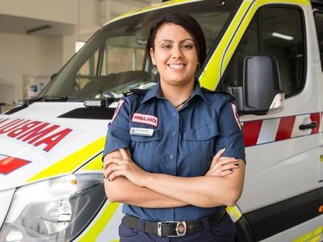 Ambulance Victoria paramedic Michelle Crilly is on a mission to protect Indigenous communities