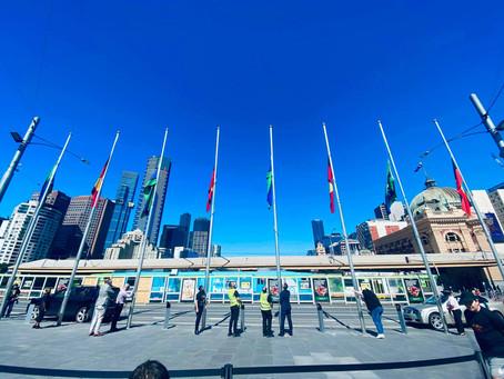 VIC NAIDOC Flag Raising Ceremony 2020