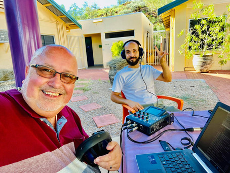 3KND Broadcasts from Yaye's Cafe in Alice Springs