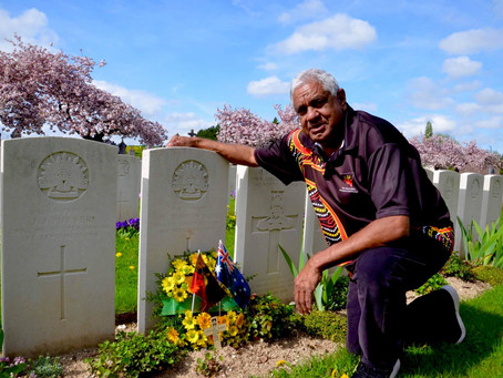 Joe Flick Retraces Footsteps of His Grandfather in First World War