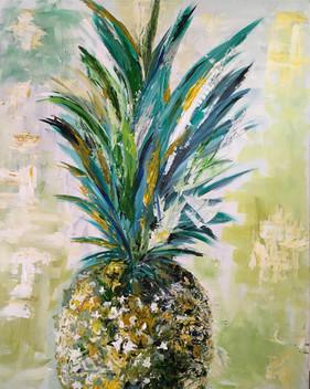 Pineapple - pallet knife