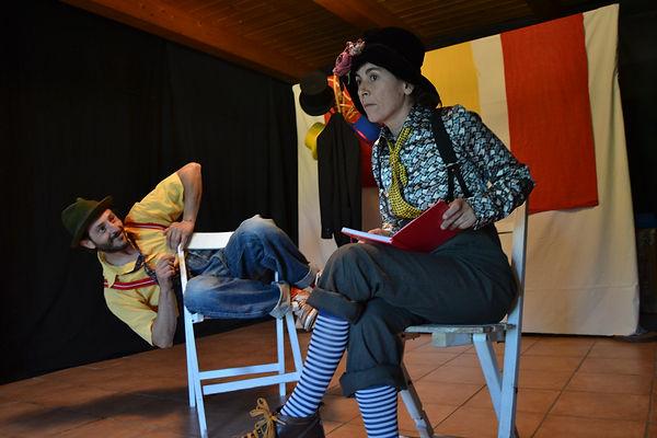 Rendez-vous comique teatro ragazzi di antas teatro, con stefano farris e raimonda mercurio