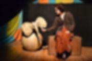 il circo di cartapesta di emanuela mancosu. teatro ragazzi, produzione antas teatro