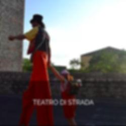 TEATRO DI STRADA e trampolieri di Antas Teatro