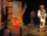 not'e incantu regia di Giulo landis, produione antas teatro per il teatro ragazzi
