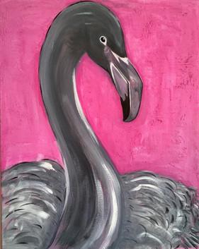 Grey Flamingo