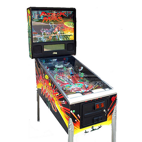 Attack From Mars Pinball Machine by Bally