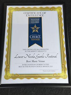 LN Hall Venue award.JPG