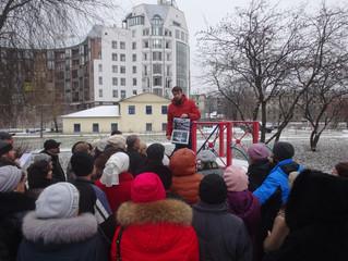Экскурсия по местам деятельности И.А. Чурикова