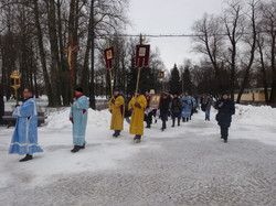 Крестный ход 2015 год