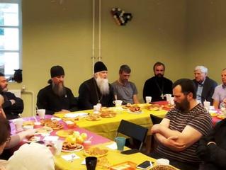 Встреча  с  трезвенниками из Екатеринбурга