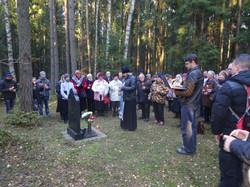 Левашовское  кладбище 11.10.15