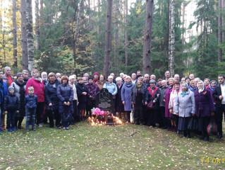 Поминовение трезвенников на Левашовском кладбище