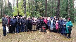 Выезд на Левашовское кладбище