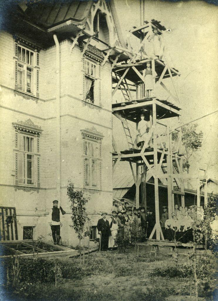 Бурение скважины 1907 г.