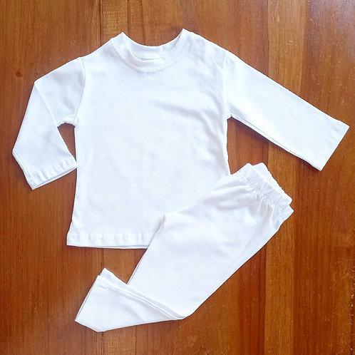 Conjunto algodão Bebê
