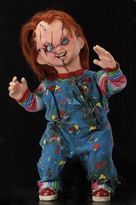 """CHUCKY Replica 1/1 """"La novia de Chucky"""" NECA"""